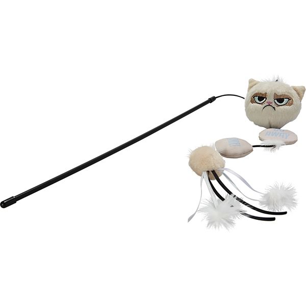 Grumpy Cat Annoying Plush Wand