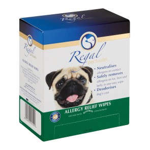 Regal Pet Health Allergy Relief Wipes